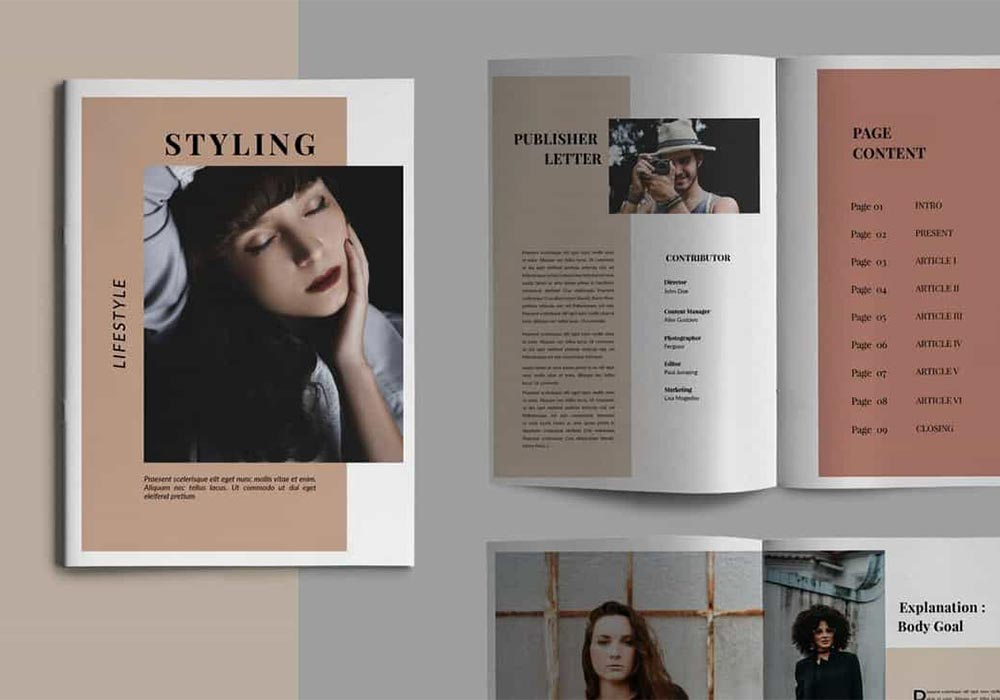 Catalog cover quality