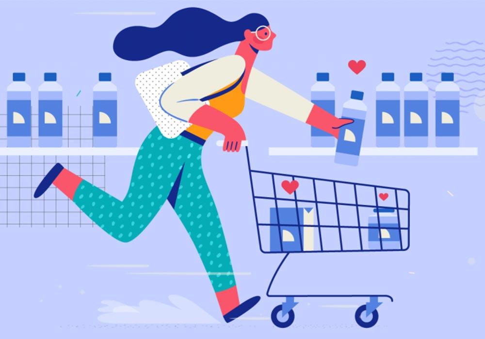 Create a sense of customer loyalty by designing a logo