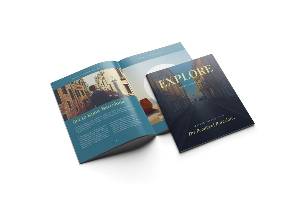 The effect of printing type on catalog price