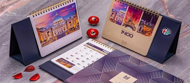 شرکت فروش تقویم رومیزی در اصفهان