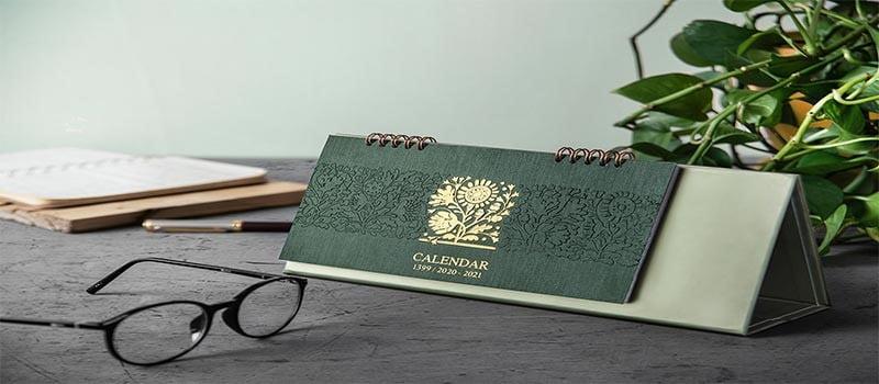 طراحی و چاپ تقویم رومیزی زیبا و خاص